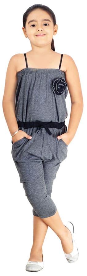 Naughty Ninos Grey Cotton Jumpsuit