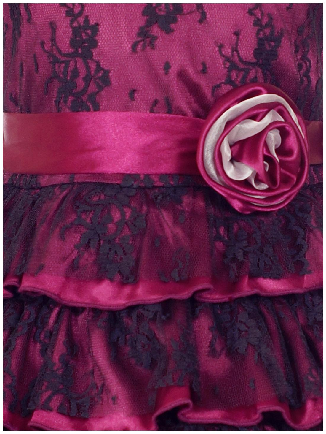 27d34c2e Buy Naughty Ninos Girl Polyester Embroidered Frock - Purple Online at Low  Prices in India - Paytmmall.com