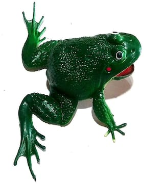 Nawani Cute Rubber Frog Toy, Size- 11/15