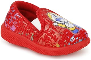 NEOBABY Red Casual Shoes For Infants