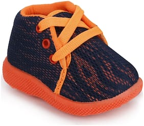 NEOBABY Orange & Blue Casual Shoes For Infants