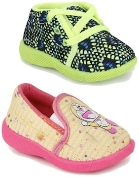 NEOBABY Green Casual Shoes For Infants