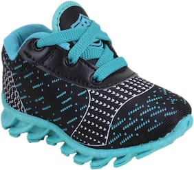 NEOBABY Black Sport Shoes For Infants