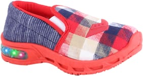 NEOBABY Red Sport Shoes For Infants