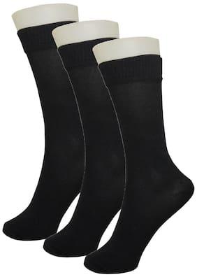 Neska Moda Boy Cotton Socks - Black