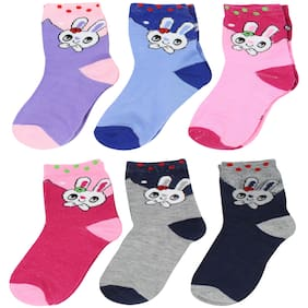 Neska Moda Boy Cotton Socks - Multi