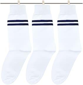 Neska Moda Boy Cotton Socks - White