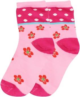 Neska Moda Boy Cotton Socks - Pink