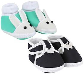 Neska Moda Multi Booties For Infants