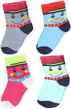 Neska Moda Boy Cotton Socks - Multi
