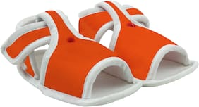 Neska Moda Orange Sandals For Infants