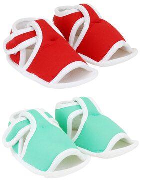 Neska Moda Multi-color Sandals For Infants