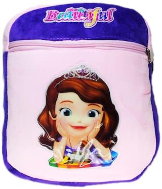 Netboys Barbie Kids School Bag Soft Plush Backpack