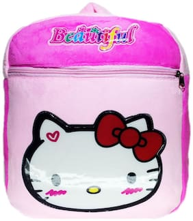 Netboys Hello Kitty Kids School Bag Soft Plush Backpack