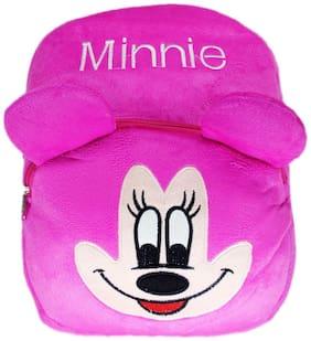 Netboys Minnie Kids School Bag Soft Plush Backpack