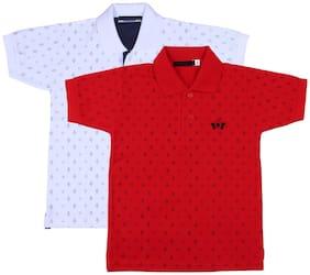 Neuvin Boy Cotton Printed T-shirt - Multi