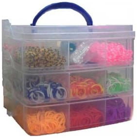 New And Sylish Square Shaped Loom Band (Pack of 1)