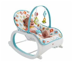 NEW Fisher Price Infant to Toddler Rocker Geo Diamonds FREE SHIPPING
