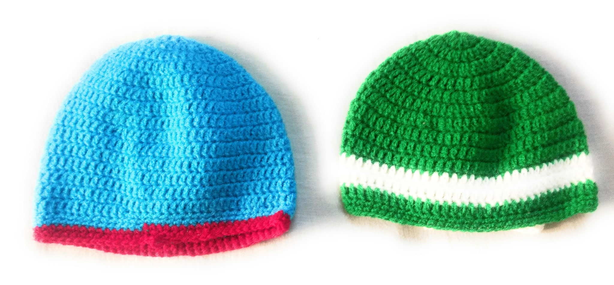 Buy New Jain Traders - Combo of Two Hand Made Crochet Woolen Designer Caps  for Baby Boys   Girls (0-6 Months c337fc74bde0