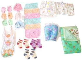 New Jain Traders - Clothes Combo for Baby Boys & Baby Girls (0-3 Months, Combo of 26 Items_Ver06)