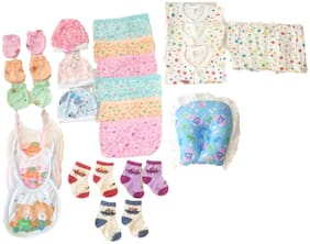 New Jain Traders - Clothes Combo for Baby Boys & Baby Girls (0-3 Months, Combo of 25 Items_Ver04)