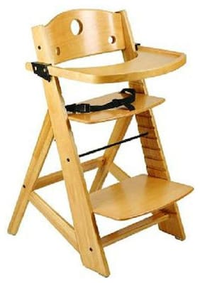 NEW Keekaroo Adjustable Height Right Wood High Chair NO SEAT INSERT