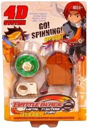 New Pinch 4D System Metal Master Fury Beyblade
