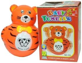 New Pinch Baby Tumbler Music Animal Toy