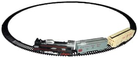 New Pinch Black Track Train With Light for kids (Black)