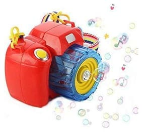 New Pinch Bubble Camera Toy, Bubble Toy for Kids - Innovative Design Bubble Machine with Bubble Solution (100 ml) Outdoor and Indoor Toys for Kids