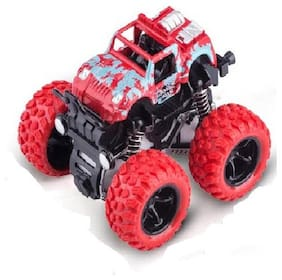 New Pinch Crazy Monster Trucks Friction Powered Cars for Kids;Spin 360 deg  (Pack of 1)