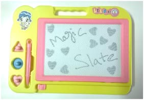 New Pinch Drawing Writing Board Magic Slate For Kids (Multicolour)