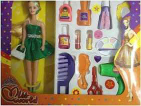 New Pinch Fashion Doll With Make Up Accessories (pack of 1)