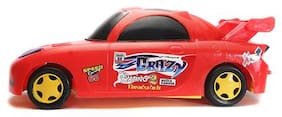 New Pinch Friction Crazy Car (Red Color)