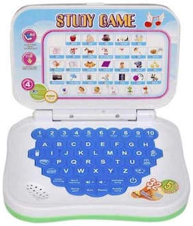 New Pinch Kids Educational English Laptop for kids Size small (Multicolor)