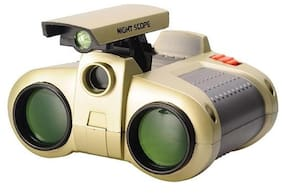 New Pinch Night Scope Spy Binoculars With Pop-Up Light For Kids