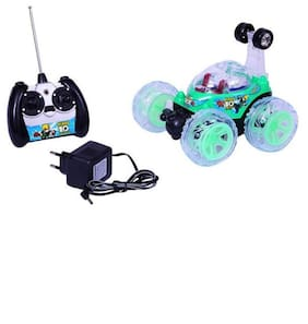 a63dd53763f33 New Pinch Rechargeable Remote Controlled Stunt Car for Kids