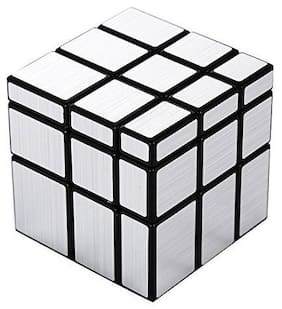 New Pinch Silver Mirror Cube 3X3 Speed Cube-in Irregular Shapes Puzzle
