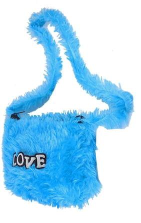 New Stylish Look SOFT TOYS Kid's Purse Blue