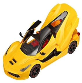 NEw Toy Chehar Enterprise 1:16 Scale Ferrari Remote Control Car, Rechargeable, Opening Doors, battery operated (multicolor)