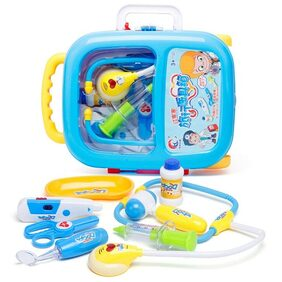 New Toy Chehar Enterprise  Doctor Play Set with Trolley Suitcase with Light and Sound Effects