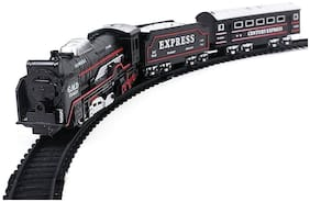 New Toy chehar Enterprise multi colored battery operated train set(COlor may be vary)