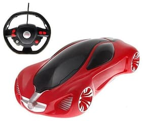 New Toy Chehar Enterprise Bounce Rollover  Stunt Car with RC Steering Wheel Type Remote Control for Kids