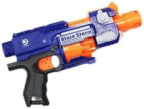 New Toy Chehar Enterprise Blaze Storm Battery Operated Soft Bullet Gun, 20 Soft Bullets Included