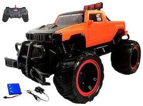 New Toy Chehar Enterprise Multicolour  Hummer Rock Crawler Monster Truck Racing Car Rechargeable