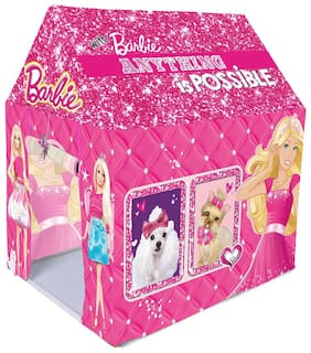 New Toy Chehar Enterprise Barbie Kids Play Tent House(multicolor)