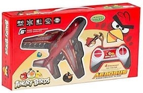 New toy chehar enterprise Angry Bird Aerobus Radio Control Plane - Red(color may be vary)