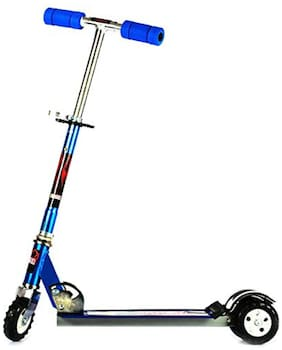 New toy chehar enterprise Heavy Metallic Big Sized Height Adjustable Scooter for Kids
