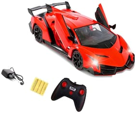 New Toy Chehar Enterprise  Veneno 1:14 Radio Control Rc Vehicle Car Model W/Batteries Included Open Doors(multicolor)