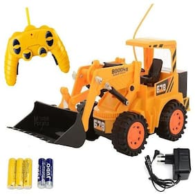 New Toy Chehar Enterprise latest Remote Control Yellow Construction Truck